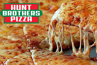 Image result for hunts brothers pizza